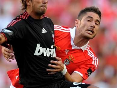 Javi Garcia lamenta oportunidades perdidas pelo Benfica