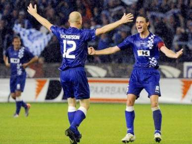Gent derrotado pelo Club Brugge