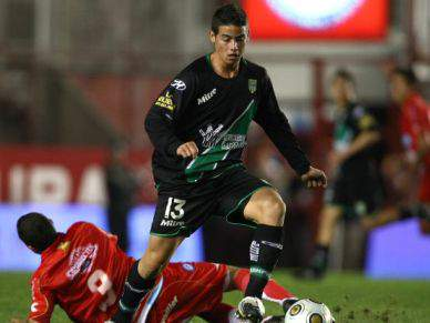 James Rodríguez já está no Porto