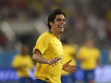 Kaká gostava de uma final Portugal-Brasil