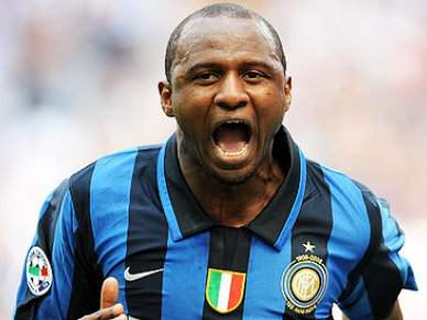 José Mourinho revela saída de Patrick Vieira do Inter