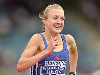 Paula Radcliffe volta quase dois anos depois