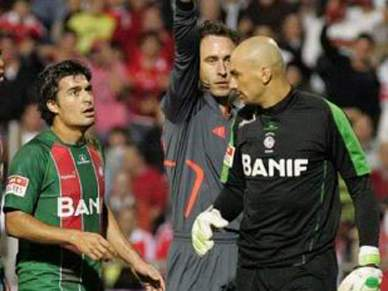 Braga vence Marítimo em jogo de estreia do guarda-redes Marcos