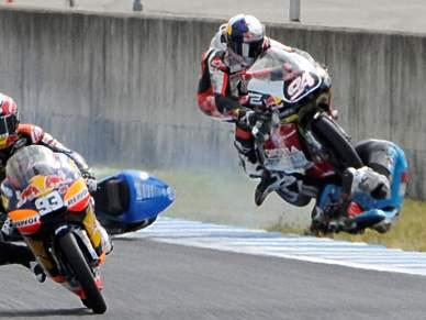 Vázquez atropelado no GP do Japão