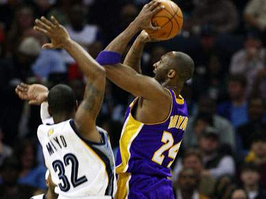 Memphis estragam noite recorde de Kobe Bryant
