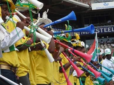 Vuvuzela, de desconhecida a instrumento nacional