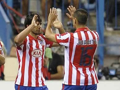 Atlético Madrid goleia Valência
