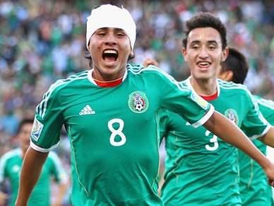 México vence Alemanha com golo de antologia