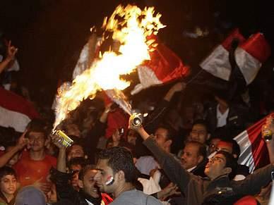 Vitória do Egipto provoca desacatos