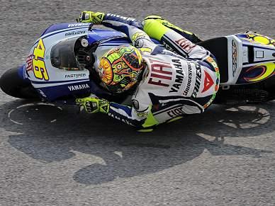 Rossi na pole da Malásia