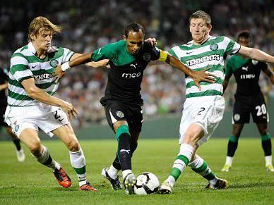 Leões perdem com Celtic de Glasgow após grandes penalidades
