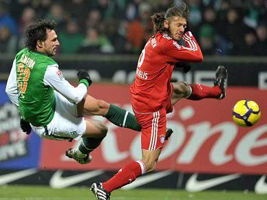 Hugo Almeida marca, mas Werder Bremen perde com Bayern Munique