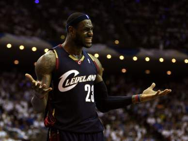 LeBron James leva