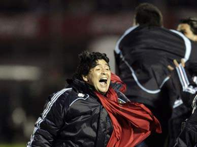 Bolatti coloca Argentina no Mundial