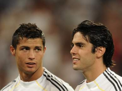 Depois de Ronaldo, agora é Kaká que está lesionado