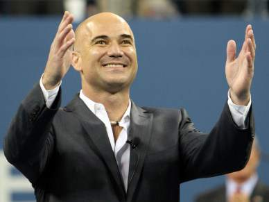 Andre Agassi entronizado no Tennis Hall of Fame