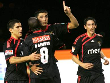 Benfica só perdeu uma vez na recepção ao Braga