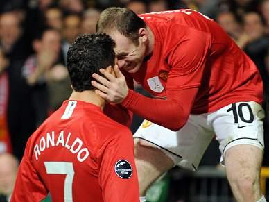 Rooney não 'perdoa' Ronaldo