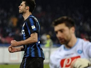 Inter de Milão afasta Nápoles nos penaltis