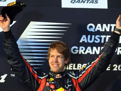 Sebastian Vettel vence Grande Prémio