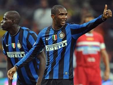 Inter vence Catania e mantém liderança na Serie A