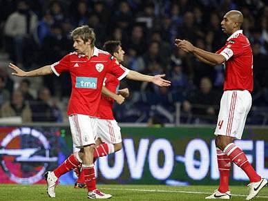 Benfica volta a jogo depois de brilhar no Dragão