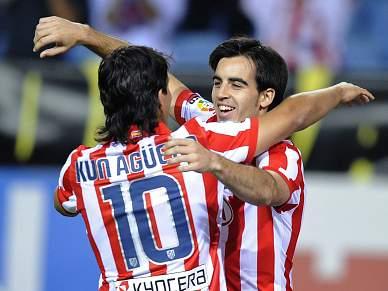 Atlético Madrid vence pela primeira vez