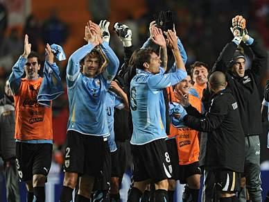Uruguai vence e está na final