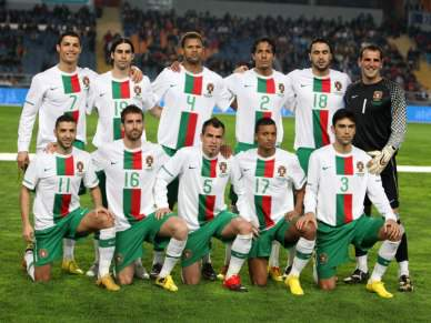 Selecção portuguesa à