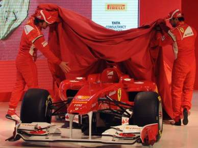 Ferrari apresenta o novo monolugar F150