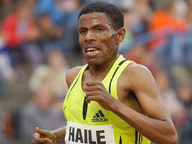 Haile Gebrselassie é o cabeça de cartaz