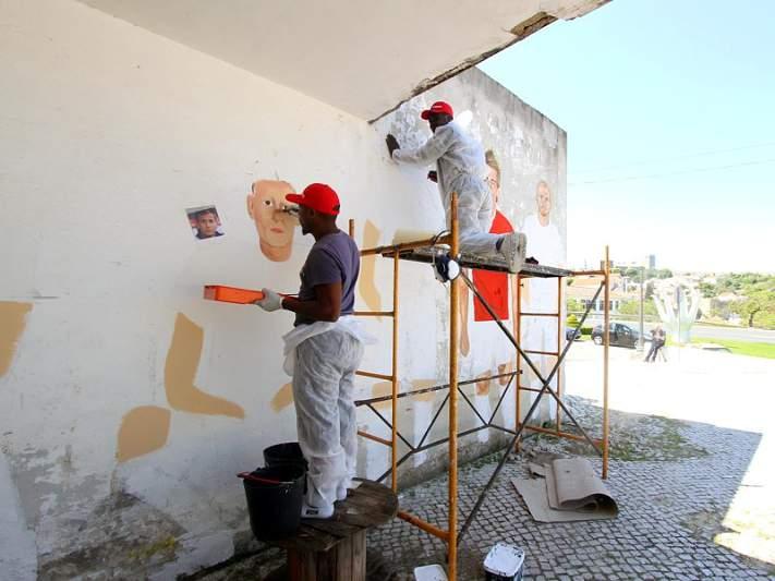 Graffitar para apoiar