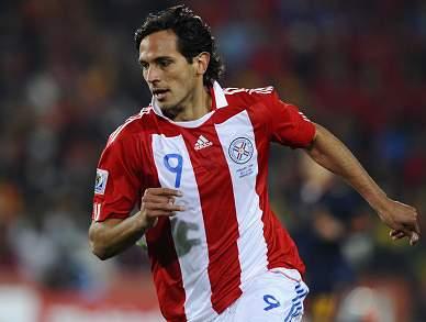 Lázio chega a acordo com Manchester City para contratar Roque Santa Cruz