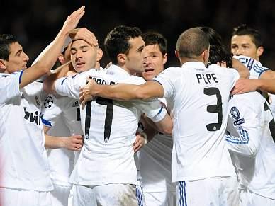 Recorde de Ronaldo na goleada de despedida do Real Madrid