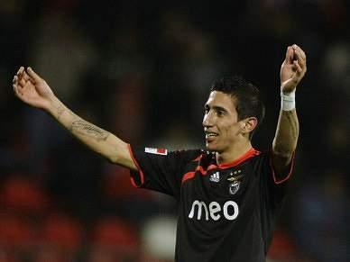 Benfica nega contactos com Real por Di María