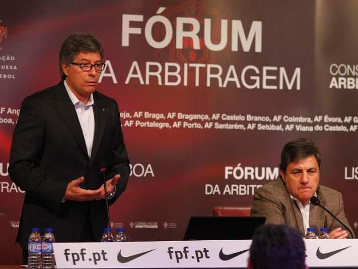 «Os árbitros não gerem clubes»