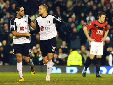 Fulham arrasa Manchester United