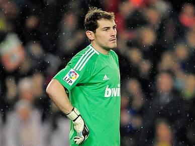 Casillas queixa-se do golo anulado ao Real Madrid