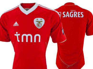 Benfica apresenta nova camisola
