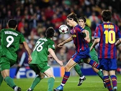Vaselina protege jogadores do 'Barça'