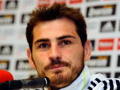 """Casillas fala sobre """"uma família no Real"""""""