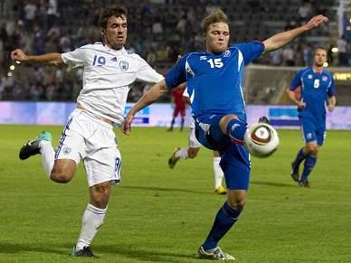 Islândia perde 3-2 em Israel em jogo particular