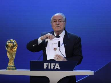 Rússia bate candidatura ibérica pelo Mundial2018