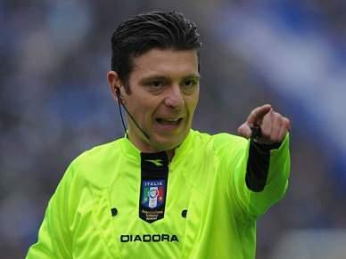 Italiano Gianluca Rocchi arbitra APOEL–FC Porto