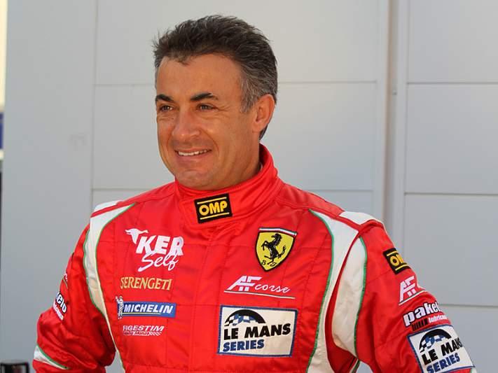 Jean Alesi regressa às pistas