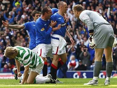 Rangers de Pedro Mendes vence Celtic