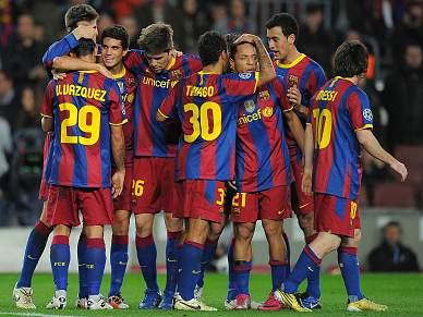 Barcelona segue em frente com o Copenhaga