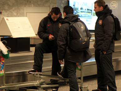 Vice-campeões europeus já estão em Lisboa