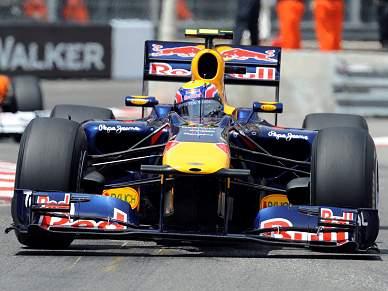 Webber sai à frente