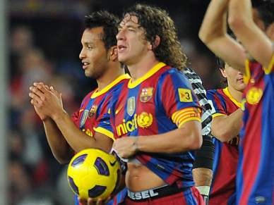 Valdés e Puyol querem uma final inesquecível